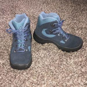 Hawkshead Blue Hiking Boots